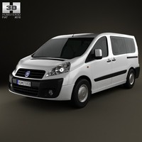fiat scudo panorama 3d 3ds