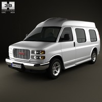 3ds gmc savana cargo