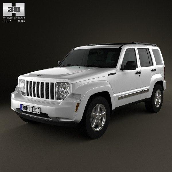 3d model of car 2008