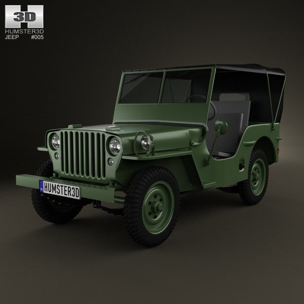 willys 1941 3d max