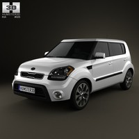 Kia Soul with HQ interior 2012