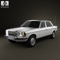 3ds mercedes-benz w123 sedan