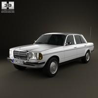 Mercedes-Benz W123 sedan 1975