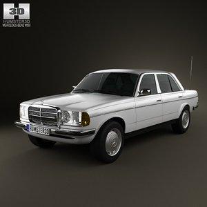 3ds mercedes-benz w123 sedan