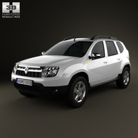 3d renault duster 2011