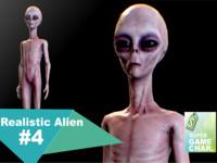 realistic aliens 4 3d fbx
