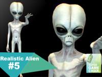 3d realistic aliens