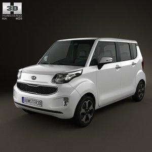 3d model kia 2012
