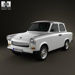 3d trabant 601 1963