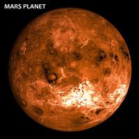 18k realistic mars 3d max