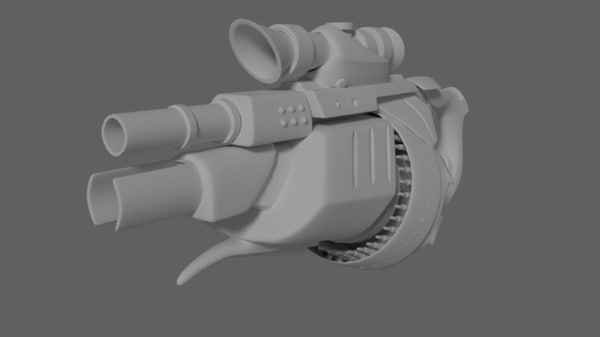 free obj mode concept rifle