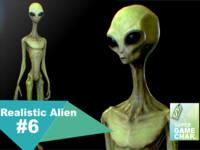 realistic aliens 3d fbx