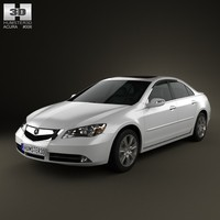 3d acura rl 2012 model