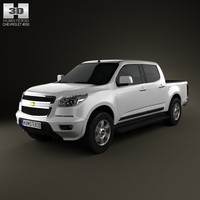 3d model chevrolet colorado s-10