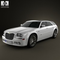 car 2008 3d model