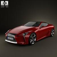 3d model lexus lf-lc lf