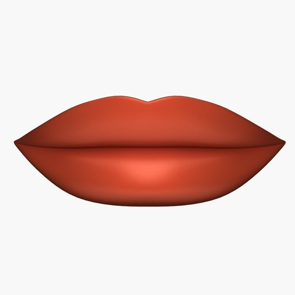 lips 3d model