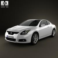 3d model nissan altima 2012