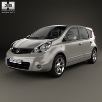 nissan note 2009 3ds
