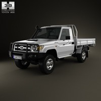 Toyota Land Cruiser (J70) Cab Chassis GXL 2008