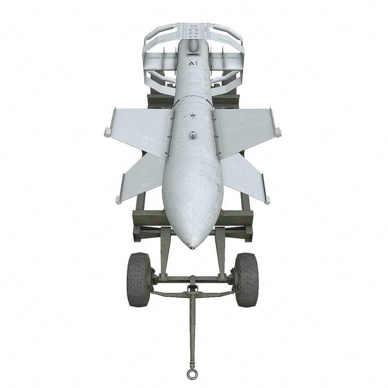 ww2 german pc1400x fritz-x 3d model