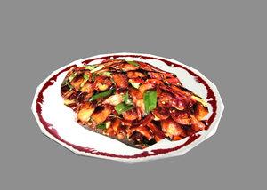 3d meal games model