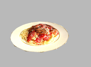 meal games 3d model