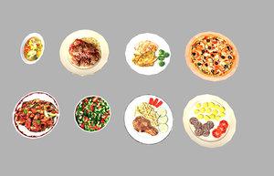 3d pack 8 meals