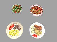 3d pack 4 meals model