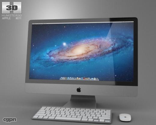 imac apple 27 3d 3ds