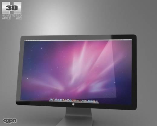 3d thunderbolt apple display