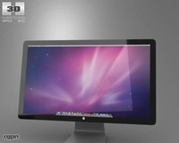 3d thunderbolt apple display