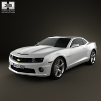 3d model chevrolet camaro 2ss