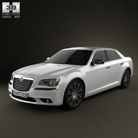 3d model lancia thema 2012