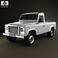 land rover defender 3d c4d