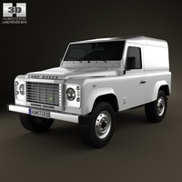 land rover defender 3d model