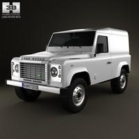 land rover defender 3d model