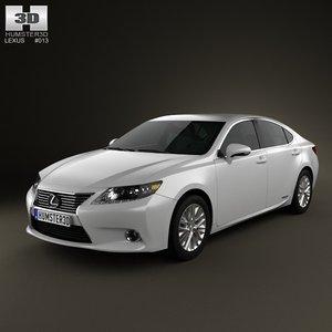 lexus es hybrid 3ds