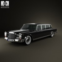 mercedes benz 600 3d 3ds