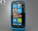 Nokia Lumia 610 3D models