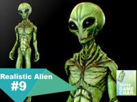 3d model realistic aliens