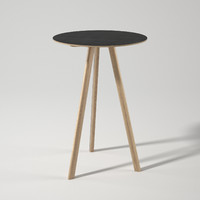 copenhague table cph20 3d model