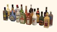 alcoholic drink 3d model