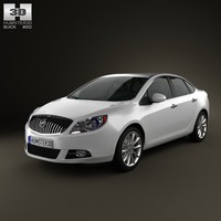 3ds buick verano excelle