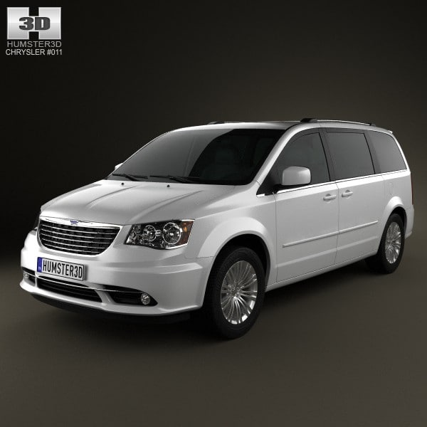 3ds chrysler town country