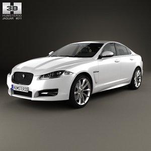 3d xf 2012 model