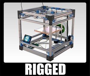 reprap fdm printer 3d max