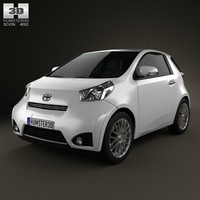 scion iq 2012 3d max