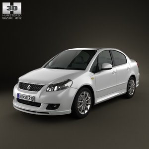 sedan suzuki maruti 3d model