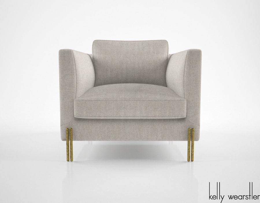new style f7c16 19c8d Kelly Wearstler Melange Club chair